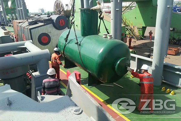 10 Tons ASME Gas Boiler Are Exported to Peru 3.jpg